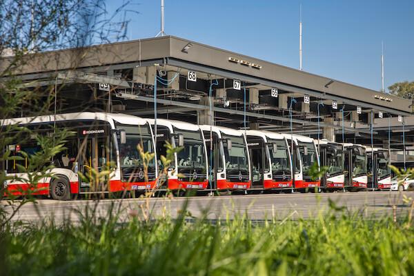 Elektrifizierung der Busbetriebshöfe in Hamburg Alsterdorf und Hamburg Bergedorf